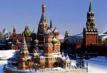 Vistas de Moscou: lista. Templos, museus, teatros, monumentos, pontes, ruas de Moscou