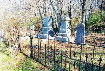 Vallas en las tumbas. Descripción y versiones