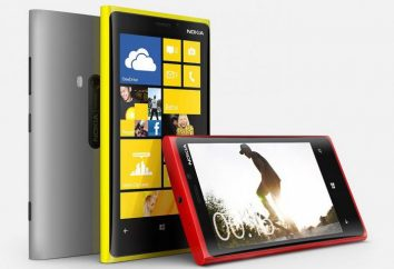 Lumia 920: Charakterystyki. Telefon Nokia Lumia 920: opis