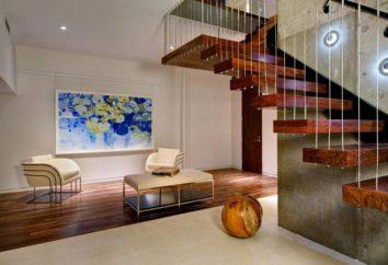 Scala all'interno di una casa privata: design, stile, e recensioni