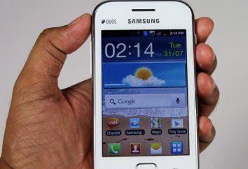 Smartphone Samsung GT-S6802 Galaxy Ace Duos: przegląd, specyfikacje