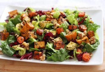 insalate senza carne commemorazione: ricette. insalate di verdure