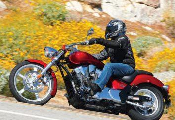 Motocicleta Honda VTX 1300: especificações técnicas e comentários