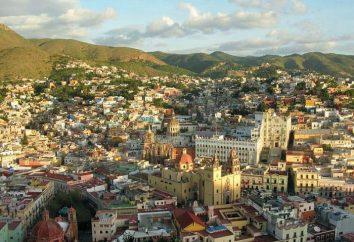 Guanajuato, in Messico. attrazioni del mondo
