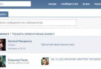 """So entfernen Sie alle den Dialog """"VKontakte"""" auf einmal: Bring-out Reinigung"""