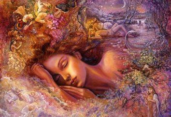 Da das Traumbuch das Mädchen in einem Traum sagt – ist es nicht immer eine angenehme Veranstaltung