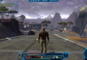 Spiel Star Wars: The Old Republic: ein Überblick, eine Beschreibung der Systemanforderungen