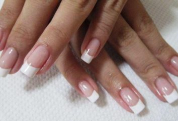Spazzola French manicure