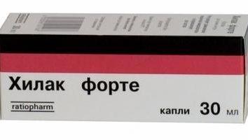 """Drug """"Hilak forte"""" (für Kinder und Erwachsene)"""