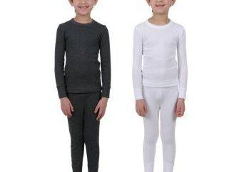 Roupa interior térmica para crianças: comentários. Roupa interior térmica para crianças Norveg