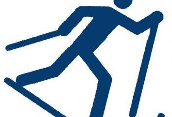 Alternatywnie dvuhshazhny poruszać. Sprzęt alternatywny dvuhshazhnogo kursu narciarskiego