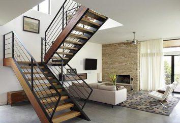 Wysokość schodów: GOST. Obliczanie kroki rozmiar i nachylenie schodów