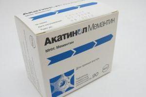 """Analog """"Memantyna"""": opis, instrukcje użytkowania i sprzężeniem zwrotnym"""