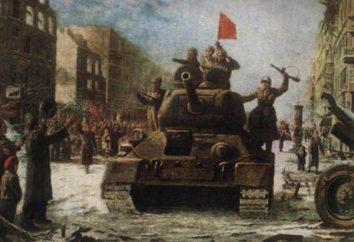 La liberazione di Budapest da parte delle truppe sovietiche