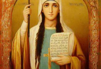 Equal-to-the-Apostles Saint Nina, Erzieher von Georgien: Ikone, Gebet und Kloster