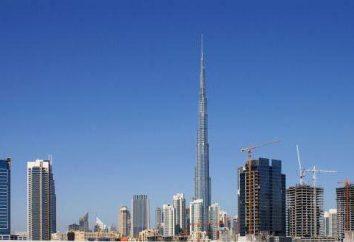 Najwyższy budynek w Dubaju. Najwyższy budynek w Dubaju, wysokość, zdjęcie