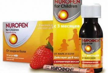 """Niesteroidowe środki przeciwzapalne. Instrukcje """"Nurofen"""""""