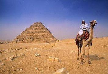 Starożytny Piramida Dżesera – jedna z popularnych atrakcji