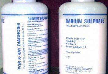 """Preparación """"Sulfato de Bario"""" – un medio eficaz para fluoroscopia"""