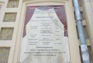 Ekaterimburgo Instituto Estatal de Teatro (EGTI): descripción, facultades y comentarios