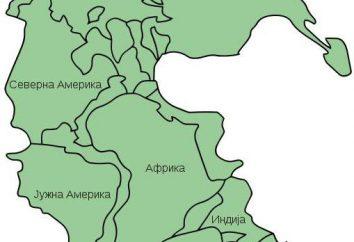 Pangea (kontynent) tworzenie i rozdzielanie superkontynentu