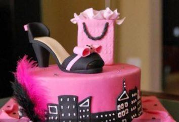 Choisissez le gâteau pour le 18e anniversaire de la jeune fille