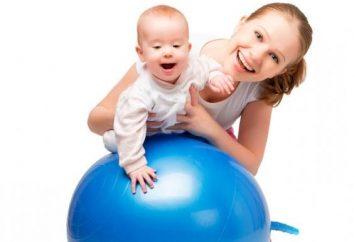 Fitball dla niemowląt – przydatna lekcja!