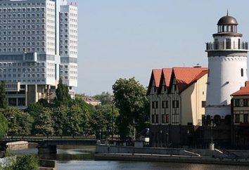 Beliebte Orte in Russland für das Leben. Gute Stadt für Geschäft Russisch